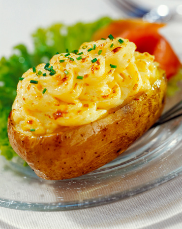 Baked Potato「Scalloped potatoe, close-up」:スマホ壁紙(19)
