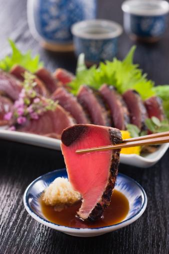 Sake「Seared Bonito Dipped into Soy Sauce」:スマホ壁紙(2)