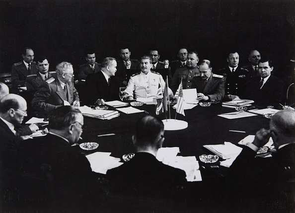 1945「Stalin At The Potsdam Conference」:写真・画像(12)[壁紙.com]