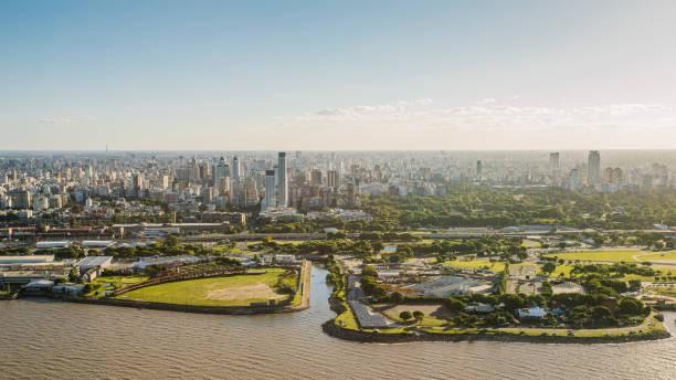 Buenos Aires Aerial View:スマホ壁紙(壁紙.com)