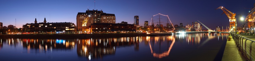 Buenos Aires「Buenos Aires Skyline by Puerto Madero at Night」:スマホ壁紙(0)