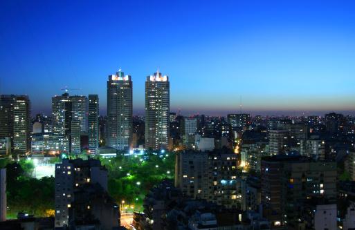 Buenos Aires「Buenos Aires city at night」:スマホ壁紙(15)