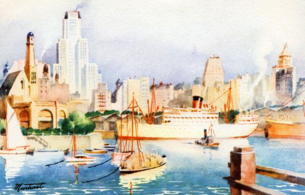 1900「Buenos Aires harbour,  Argentina」:写真・画像(12)[壁紙.com]