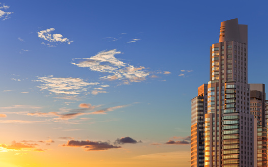 Buenos Aires「Buenos Aires Argentina skyscraper at sunset」:スマホ壁紙(14)