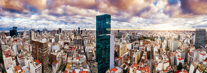 Buenos Aires「Buenos Aires Skyline」:スマホ壁紙(9)