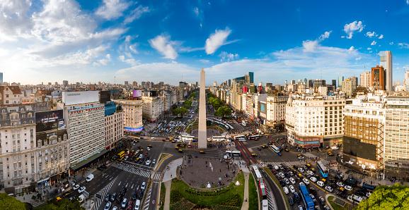 Buenos Aires「Buenos Aires Skyline」:スマホ壁紙(1)