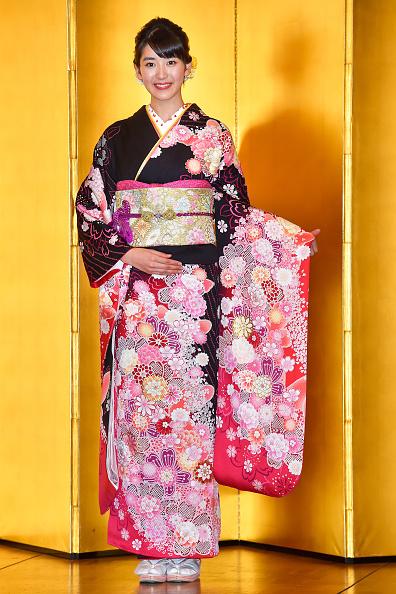 Kimono「Oscar Promotion Holds New Year's Kimono Photocall」:写真・画像(15)[壁紙.com]