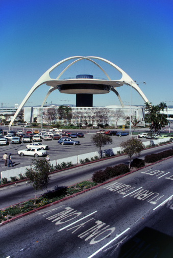 LAX Airport「The Theme Building at Los Angeles International Airport」:スマホ壁紙(15)