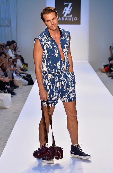 Purple Shoe「A.Z. Araujo At Mercedes-Benz Fashion Week Swim 2014- Runway」:写真・画像(6)[壁紙.com]