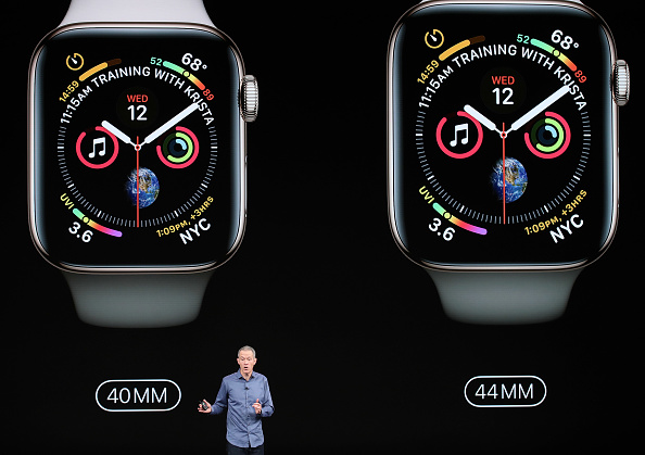Apple Watch Series 4「Apple Debuts Latest Products」:写真・画像(1)[壁紙.com]