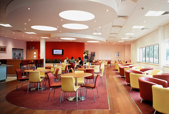 Dining Room「Office cafeteria and lounge」:写真・画像(4)[壁紙.com]