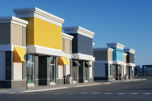 Strip Mall「Colorful Store Building Exteriors」:スマホ壁紙(7)