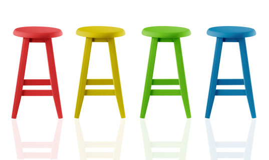 Stool「Colorful Stools」:スマホ壁紙(10)