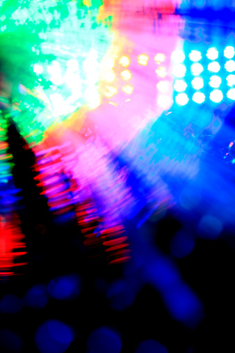 Arts Culture and Entertainment「Colorful Stagelights background」:スマホ壁紙(8)