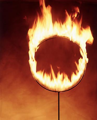 Plastic Hoop「Flaming Hoop」:スマホ壁紙(13)