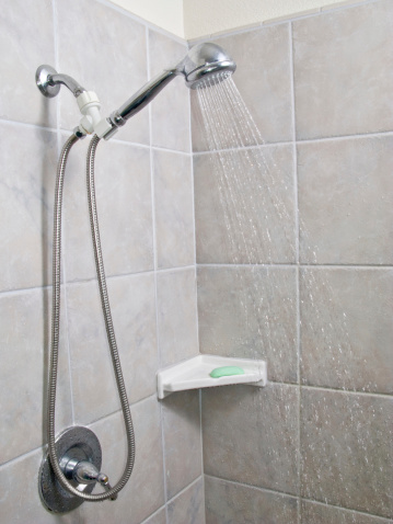 Soap「a shower head with running water」:スマホ壁紙(19)