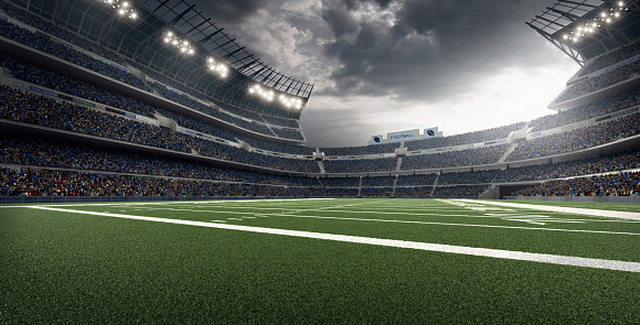 Sports Field「American football stadium」:スマホ壁紙(0)