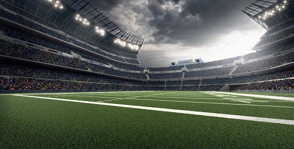 Low Angle View「American football stadium」:スマホ壁紙(17)