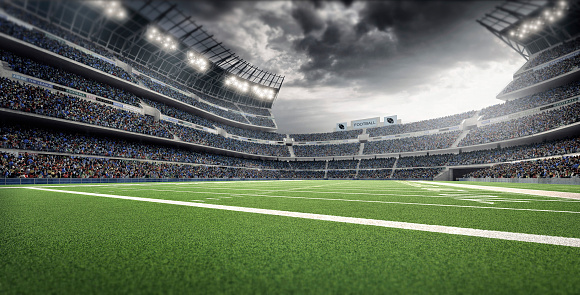 Sports Field「American football stadium」:スマホ壁紙(5)