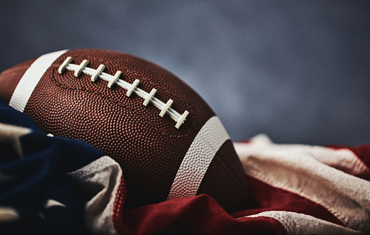 Patriotism「American football background with American flag」:スマホ壁紙(12)