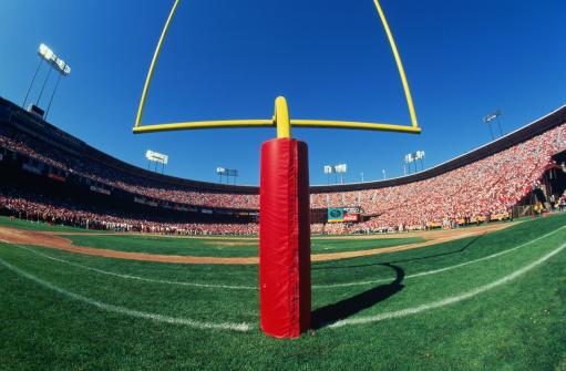 Goal Post「American football stadium, wide angle of goal post」:スマホ壁紙(7)