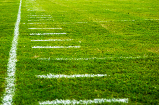 Competitive Sport「American Football Field at Football Game」:スマホ壁紙(12)