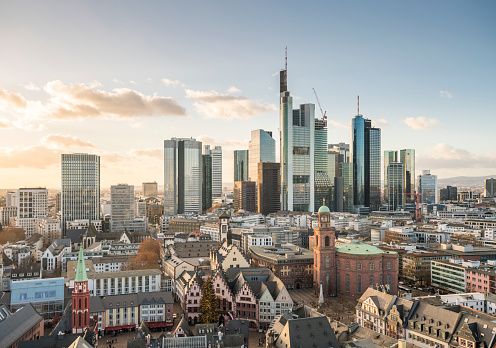 Financial District「Frankfurt skyline」:スマホ壁紙(19)