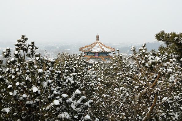 Bestpix「Snow Sits On Rooftops In The Forbidden City」:写真・画像(16)[壁紙.com]