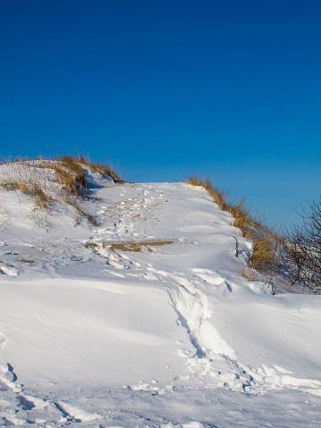 Snowdrift「Snow covered dune」:スマホ壁紙(18)