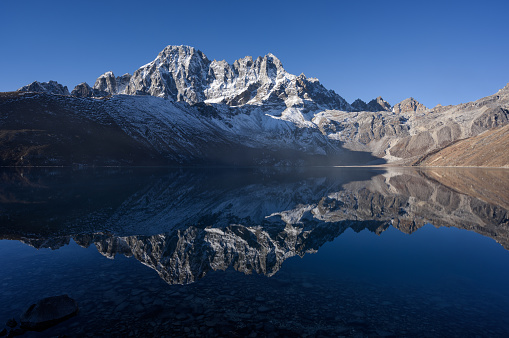 Khumbu「Gokyo lake with nice reflection」:スマホ壁紙(9)