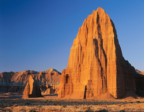 Capitol Reef National Park「Temples of the Moon and Sun」:スマホ壁紙(1)