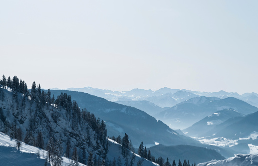 Dachstein Mountains「Wonderful winter landscape of the Austrian Alps」:スマホ壁紙(10)