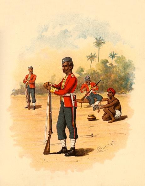Giles「11Th Bengal Native Infantry」:写真・画像(1)[壁紙.com]