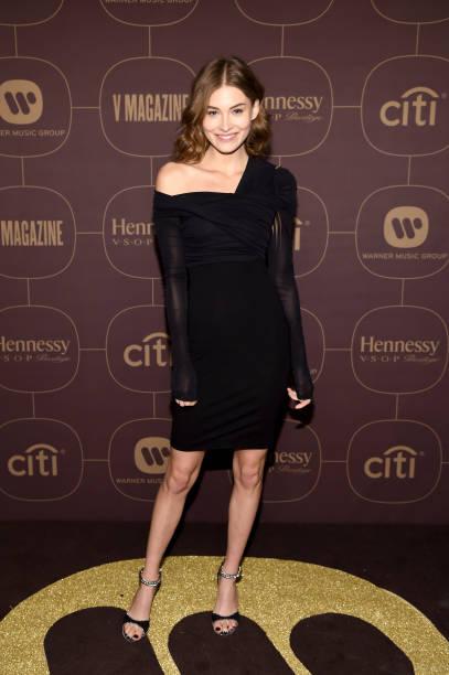 Asymmetric Clothing「Warner Music Group Hosts Pre-Grammy Celebration In Association With V Magazine - Arrivals」:写真・画像(16)[壁紙.com]