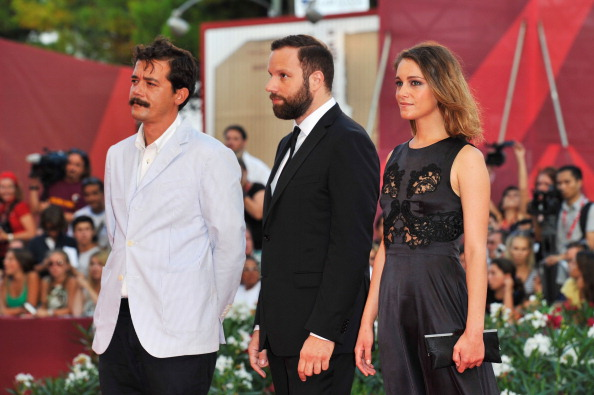 """Land「""""Damsels In Distress"""" Premiere and Closing Ceremony Arrivals - 68th Venice Film Festival」:写真・画像(17)[壁紙.com]"""
