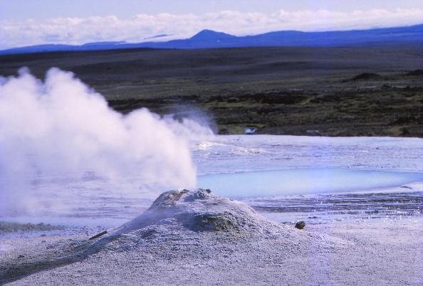 風景「Hot Spring And Calcite Formation」:写真・画像(16)[壁紙.com]