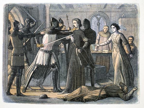 Circa 14th Century「The Arrest Of Sir Roger Mortimer Nottingham Castle 1330 (1864)」:写真・画像(1)[壁紙.com]