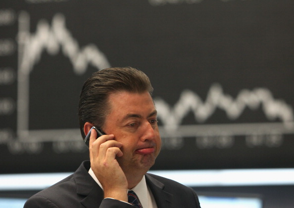 Conference Phone「German Stock Exchange Reacts To U.S. Downgrade」:写真・画像(18)[壁紙.com]