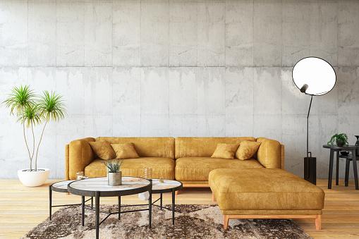 Old-fashioned「Loft Room with Sofa」:スマホ壁紙(13)