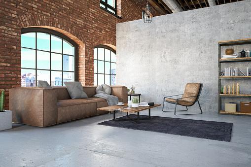 USA「Loft Room with Sofa」:スマホ壁紙(4)