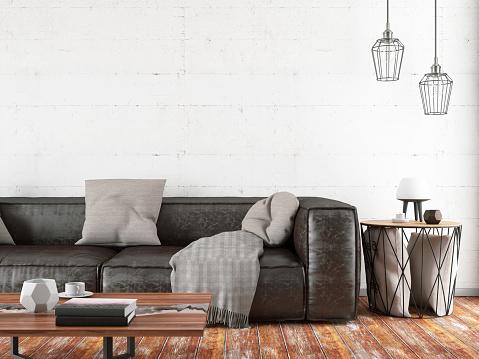 Rustic「Loft Room with Sofa」:スマホ壁紙(14)