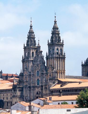 Camino De Santiago「Cathedral at Santiago de Compostella.」:スマホ壁紙(10)