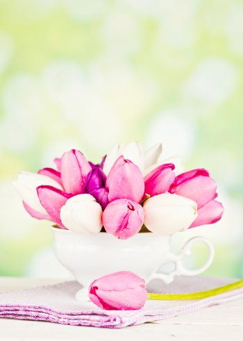 Mother's Day「Tulips in Teacup for Mother's Day」:スマホ壁紙(16)