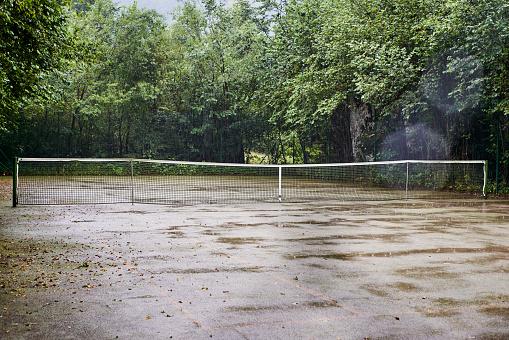 テニス「old tarmac tennis court」:スマホ壁紙(4)