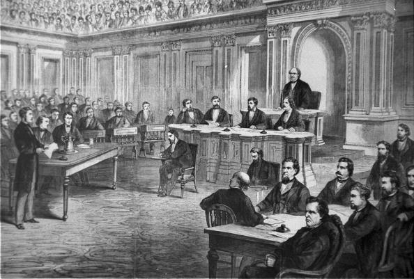 President「Impeachment trial of President Andrew Johnson」:写真・画像(2)[壁紙.com]