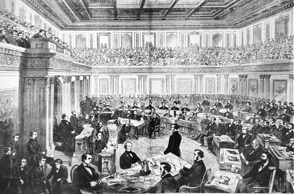 President「Impeachment trial of President Andrew Johnson」:写真・画像(9)[壁紙.com]