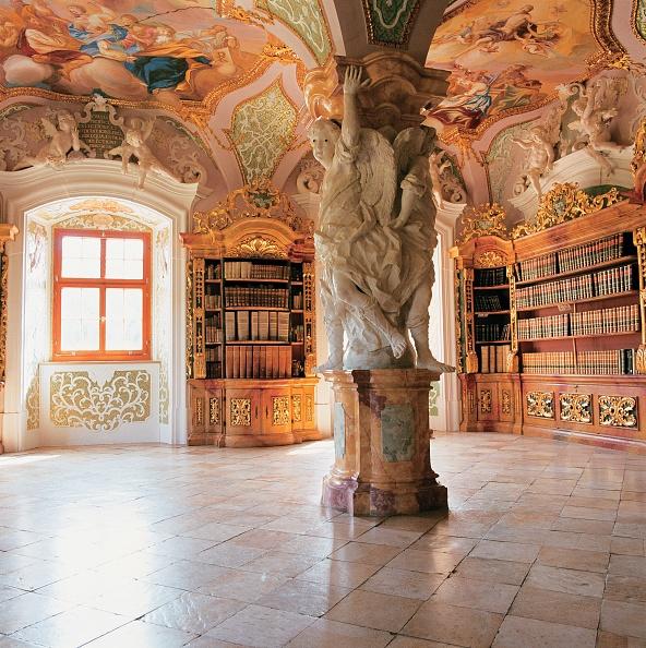 Abbey - Monastery「Monastery library」:写真・画像(5)[壁紙.com]