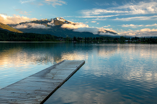 British Columbia「Green Lake, Whistler, British Columbia, Canada」:スマホ壁紙(10)