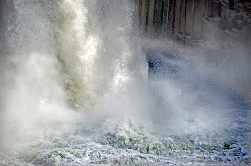 Basalt「Aldeyjarfoss Waterfall」:スマホ壁紙(16)