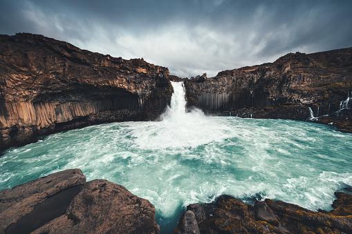 Basalt「Aldeyjarfoss In Iceland」:スマホ壁紙(5)